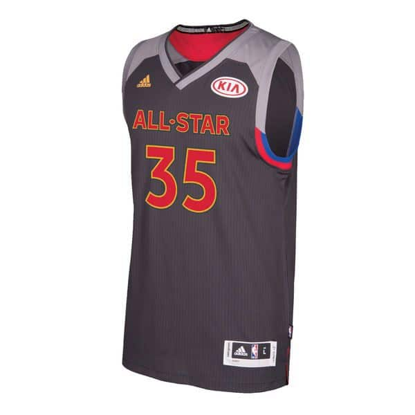 competitive price 7361d c77f0 NBA All Star Game 17 Swingman Jersey WEST Kevin Durant - CE8053