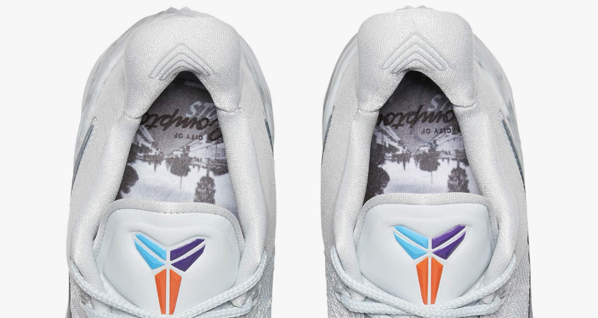 Variété Nouveau à Mode Nike Kobe AD Noir Violet Jaune Sur