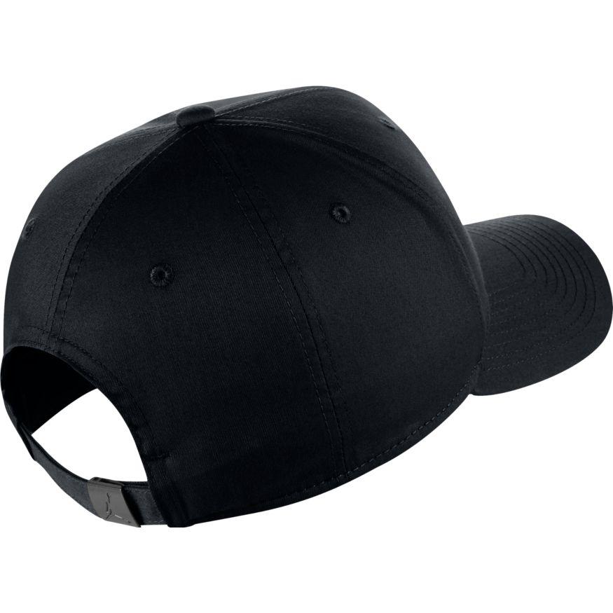 b8f5d0a9614 Jordan Classic99 Metal Jumpman Hat Blk 899657-010