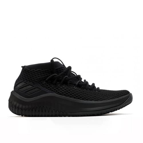 check out b7da8 b4fca Adidas Dame 4 Black Kids CG4306