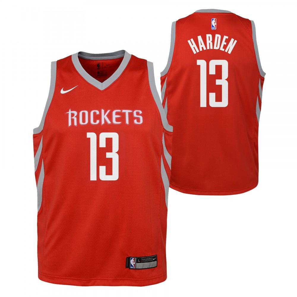 baf4b14c83f0f James Harden Maillot Icon Edition Houston Rockets KIDS