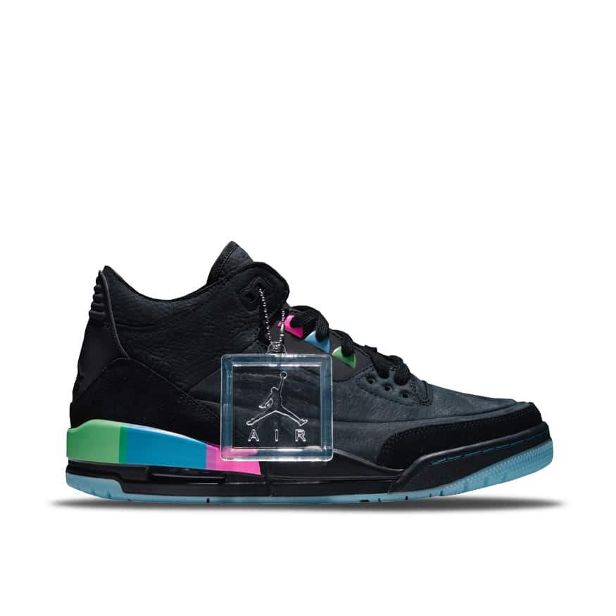 "best sneakers 4535a eb7cb Air Jordan 3 Retro SE ""Quai 54"" Kids AT9194-001"