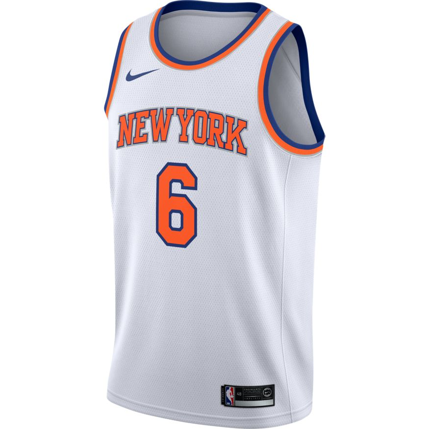 big sale 41d24 d6ed8 Frank Ntilikina Maillot Icon Edition Swingman Jersey New York Knicks  864495-400