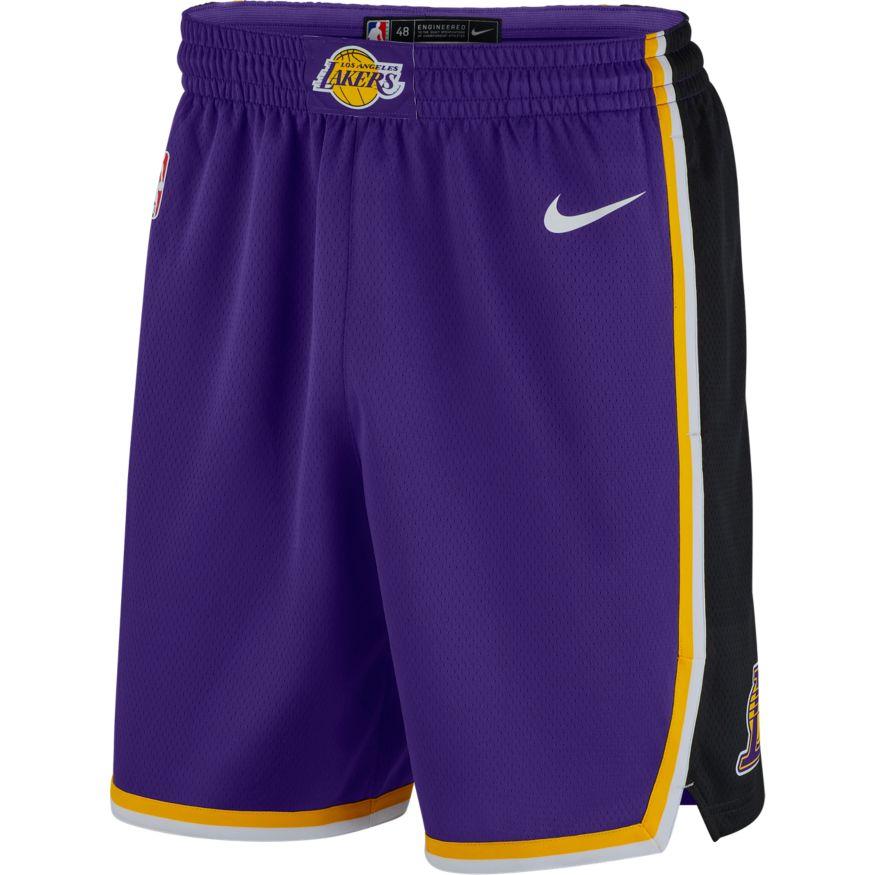 Los Angeles Lakers Nike Statement Edition Swingman Short 866825-504 ffa17d7b1