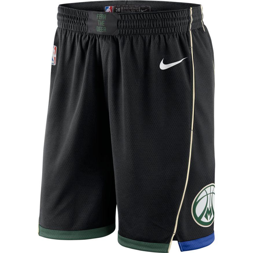 0b042e403c073 Milwaukee Bucks Nike Icon Edition Swingman Short 866837-323
