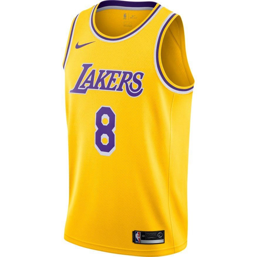 Lonzo Ball Maillot Icon Edition Swingman LA Lakers 864423-736 f03f16e0e