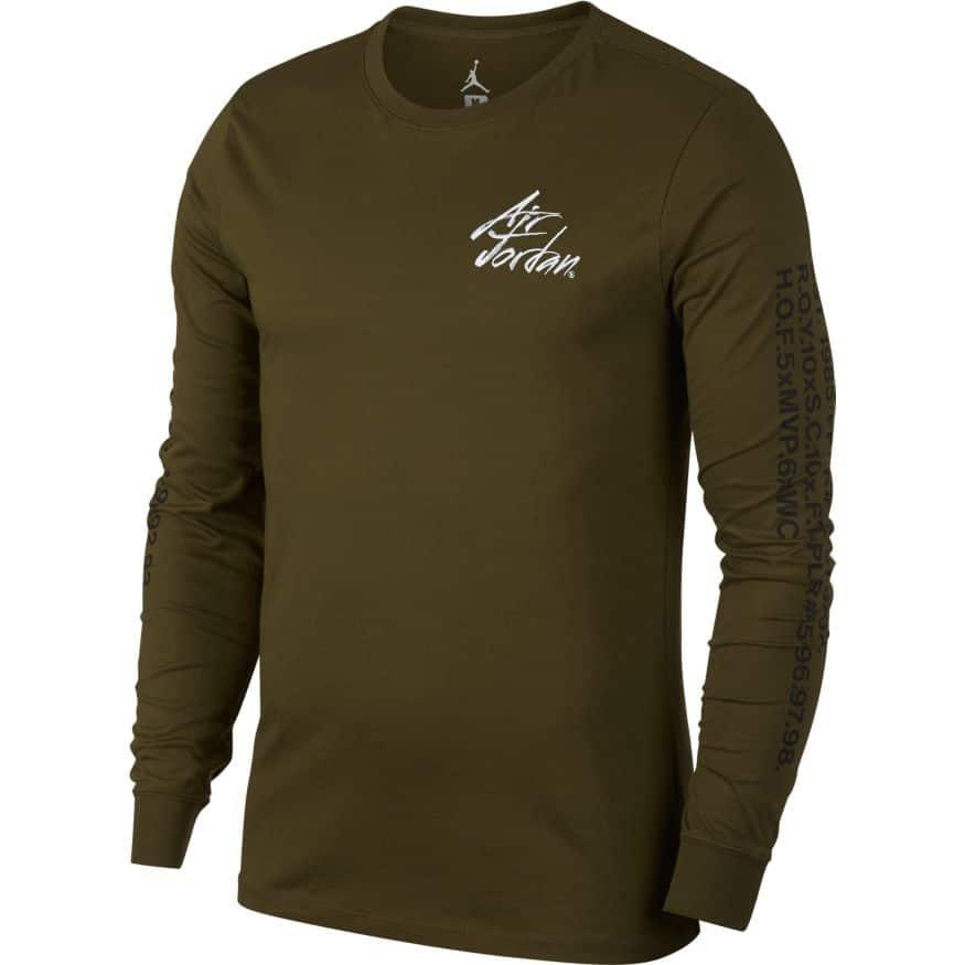 Jordan Sportswear Greatest Long Sleeve Tee AV6011-395  9fcf6eb1b