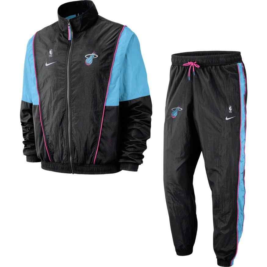 Nike Ah8822 Tracksuit Heat Nba 011Baskettemple Courtside Miami jR4L5A