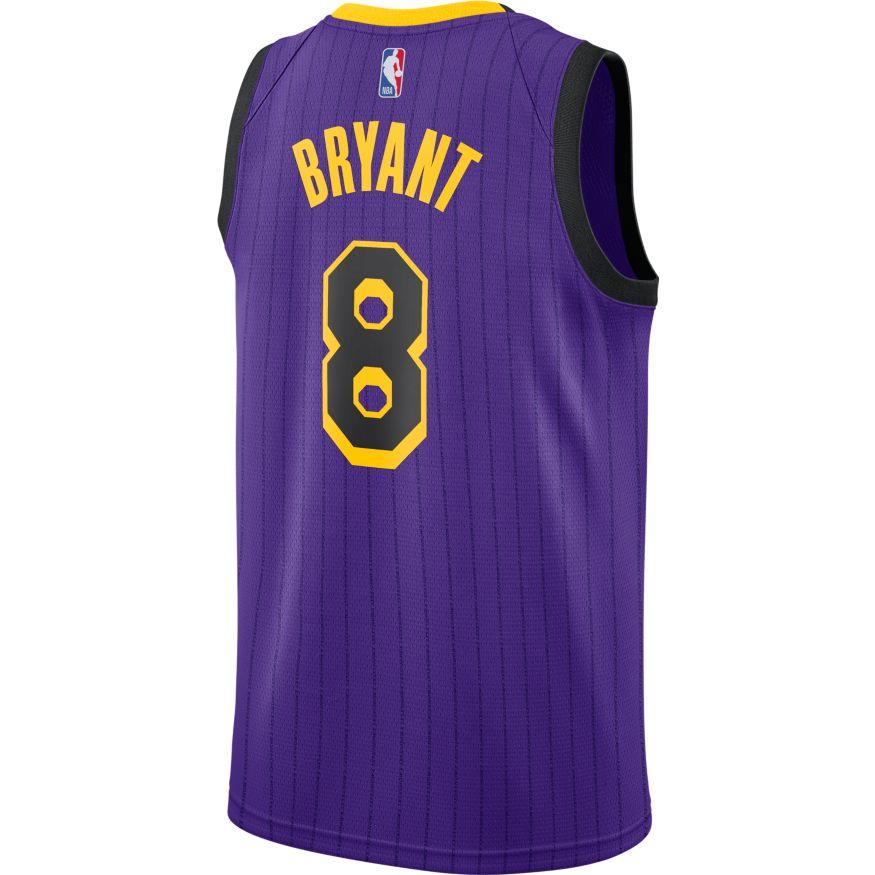 dc6d098f205 Lonzo Ball Maillot Icon Edition Swingman LA Lakers 864423-736