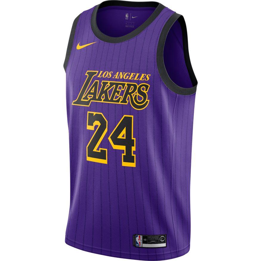 8a57c4d5c Lonzo Ball Maillot Icon Edition Swingman LA Lakers 864423-736