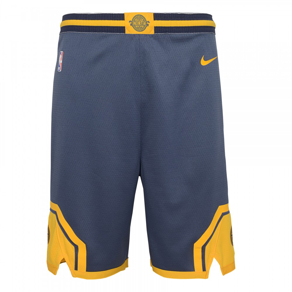5d46431f57a Short NBA Enfant GSW Warriors Nike City Edition