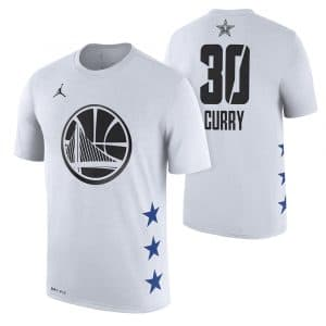 "56f5f2c36deb Tee Enfant ""All star Edition 2019"" White Stephen Curry"