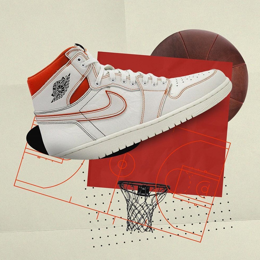 2a7dcd8ddc3 AIR JORDAN I SAIL UNIVERSITY RED