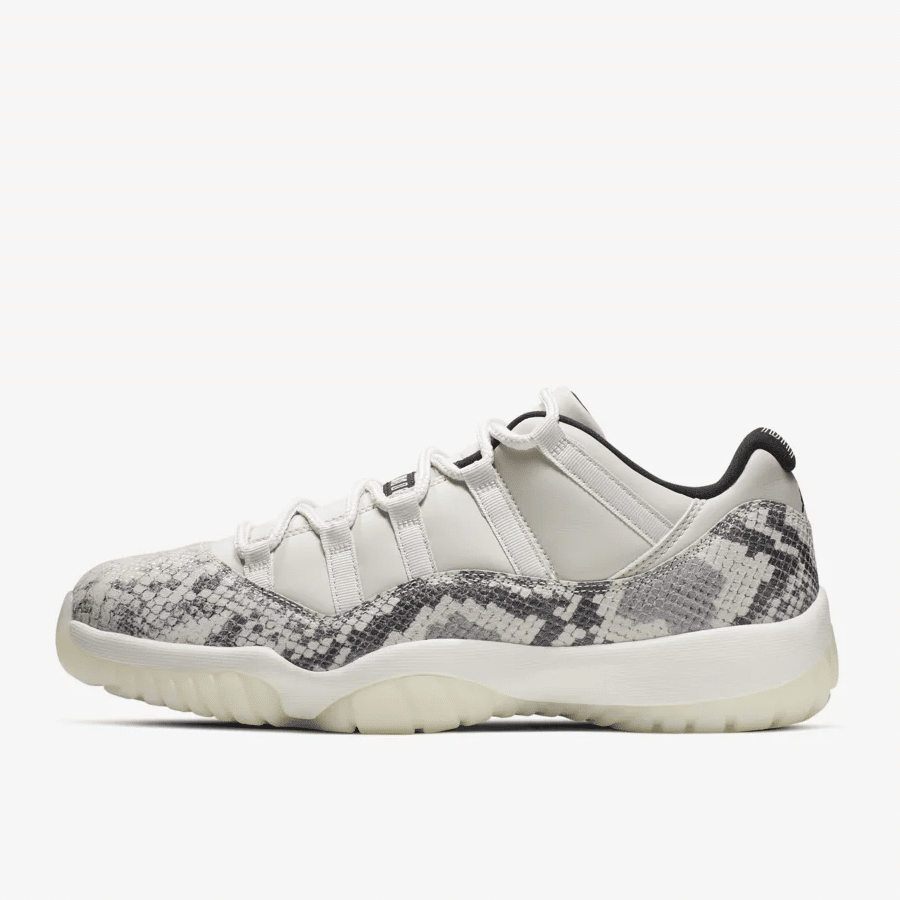 timeless design a6087 39ddd AIR JORDAN 11 LOW SNAKESKIN